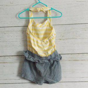 Savannah Bottoms - One-piece Shorts and Halter Romper